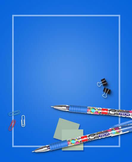 Cello Gel Tech Pen : Experience smudge free writing