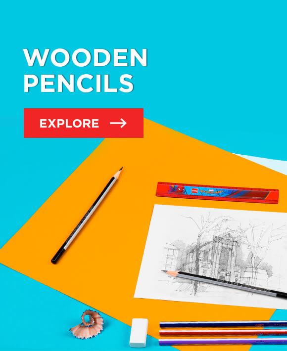 Cello Wooden Pencils : Pitch Dark Pencils