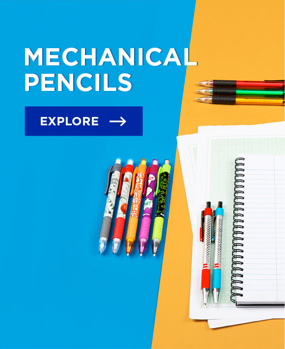 Cello Mechanical Pencils : Stylish, Smooth and Precise