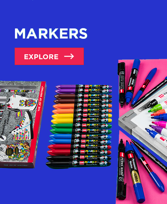 Cello Markers : Range of markers used for different purposes
