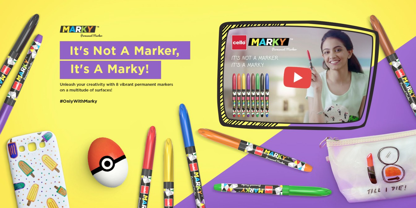 Cello Marky: Unleash your creativity with permanent marker