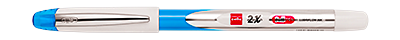 Cello 2X Pen : Metallic features  with premium looks available in multiple body colours